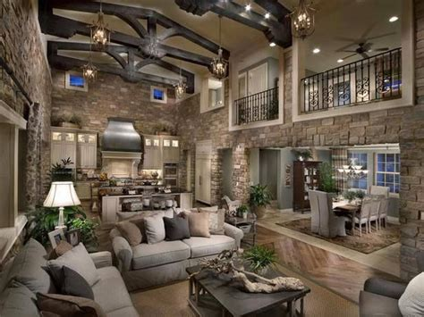 now this cabin interior is amazing high ceilings and light great space the