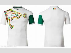 Senegal 2017 Africa Cup of Nations Home and Away Kits