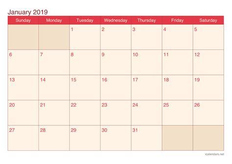 january  printable calendar icalendarsnet
