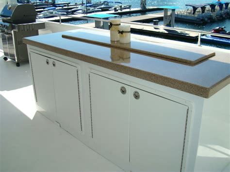 outdoor kitchen height houseboats bars outdoor kitchens and bar height tables houseboat options new houseboat