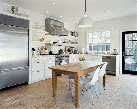white brick floor 10 brick floor design ideas we love