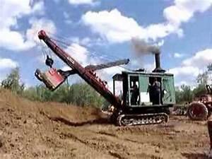 Erie B Steam Shovel Part 1 of 2 from 2006 - YouTube