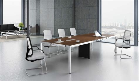 conference room table furniture 39 berlin 39 10 seat conference table in walnut finish boss