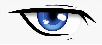 Anime Eyes Eye Cool Clipart Male Transparent