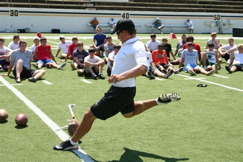 ray guy prokickercom kicking camps announce national