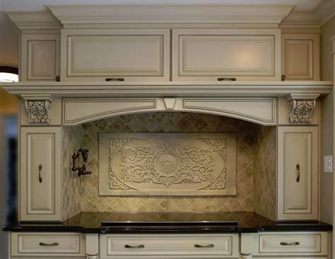 Backsplash Kitchen Stone Wall Tile Travertine Marble