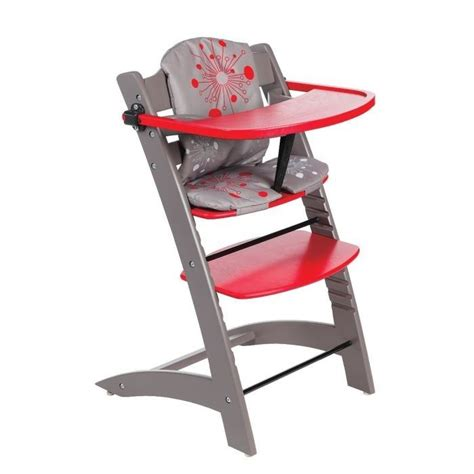 badabulle chaise haute evolutive taupe taupe et achat vente chaise haute
