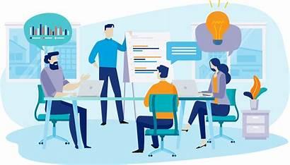 Training Illustration Digital Business Invest Illustrations Businessid