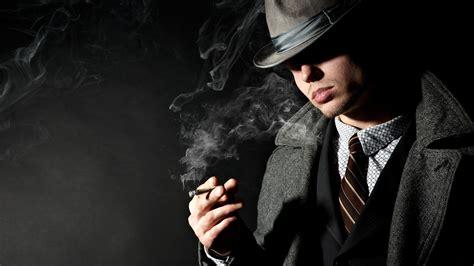 full hd wallpaper vintage bristle cigarette smoke suit