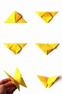 Origami Schmetterling Anleitung : origami d butant pr sentation de 10 mod les origami faciles r aliser en moins de 10 minutes ~ Frokenaadalensverden.com Haus und Dekorationen