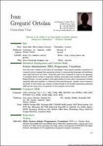 Pdf Resume Template Professional Resume Template Pdf Free Sles Exles Format Resume Curruculum Vitae