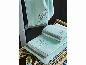 Linge De Toilette Ikea : linge de toilette brod dans les nuages linvosges ~ Teatrodelosmanantiales.com Idées de Décoration