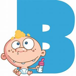 Letter B Pictures For Kids letter b cartoon coloring kids