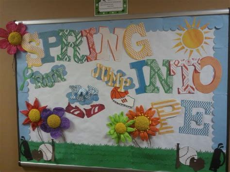 Bulletin Boards For Physical Education