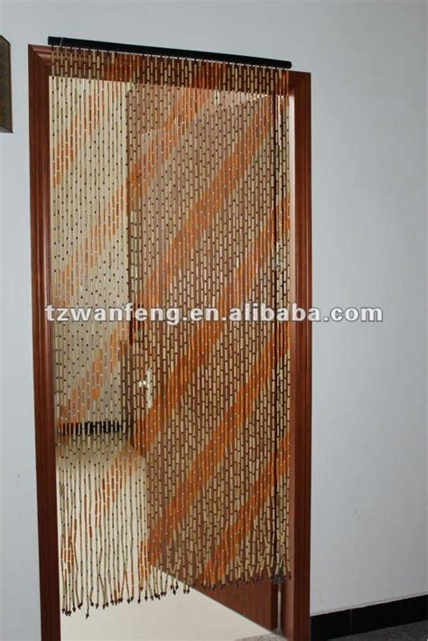 Bamboo Beaded Door Curtains Australia by Beaded Door Plain Bamboo Curtain 125 Strands In