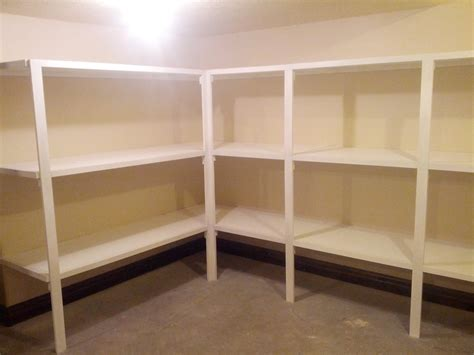 Storage Room Shelving Plans Listitdallas Throughout Design