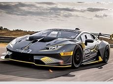 Lamborghini introduces new Huracán Super Trofeo EVO race