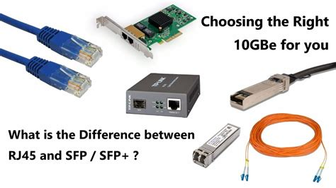 what is sfp what is the difference between rj45 and sfp which is