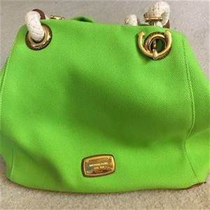 Women s Michael Kors Lime Green Handbag on Poshmark