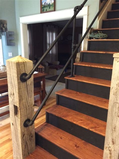 plumbing pipe handrail a few projects you should try if you re into pipe furniture 1556