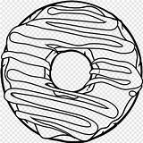 Donut Coloring Donuts Transparent Template Pngjoy Nicepng sketch template