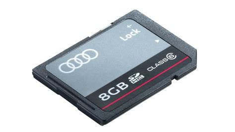 audi sd card rf audi genuine accessories