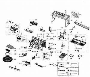 Samsung Microwave  Hood Parts
