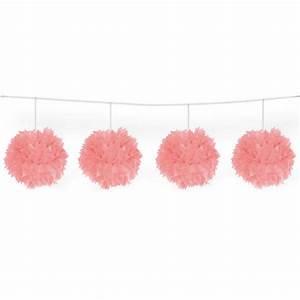 Guirlande En Papier Crépon : guirlande pompons en papier cr pon 3 m prix minis sur ~ Melissatoandfro.com Idées de Décoration