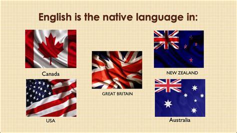 english speaking countries prezentatsiya onlayn
