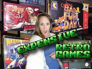 Expensive Retro Games!! (TheGebs24) YouTube