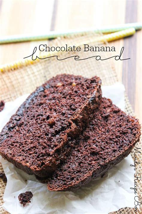 chocolate banana bread  mouthwatering treats