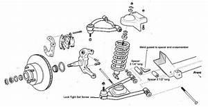 Chevy Silverado Front End Parts Diagram
