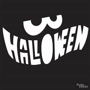 Halloween, Mouth, Pumpkin, Stencil