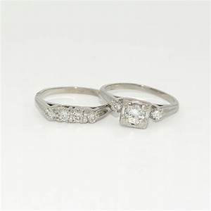 Vintage wedding band antique engagement ring hot girls for Vintage wedding rings sets