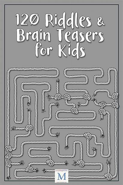 Riddles Brain Answers Teasers Hard Word Adults