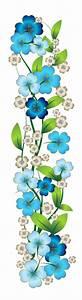 Blue Flower Decor PNG Clipart | laminas decoupage ...