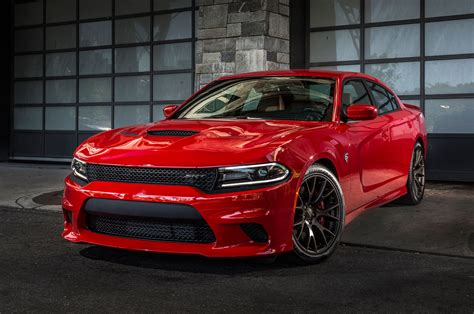 hellcat charger 2015 dodge charger srt hellcat front three quarter view 7