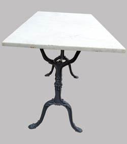 Table Marbre Rectangulaire : mobilier de bistrot et de brasseries anciennes ~ Teatrodelosmanantiales.com Idées de Décoration