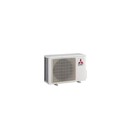 Mitsubishi Split Ductless by Mitsubishi Installed P Series Outdoor Ductless Mini Split