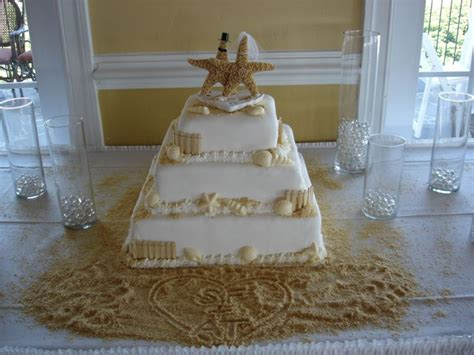 beach wedding cakes wedding ido