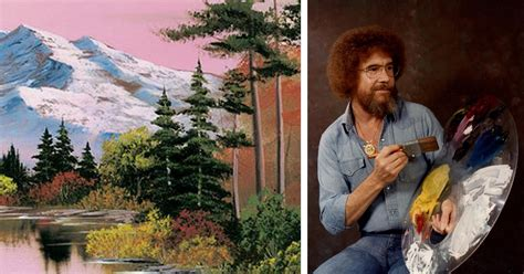 """Learn To Paint With Free Episodes Of Bob Ross' """"the Joy Of"""