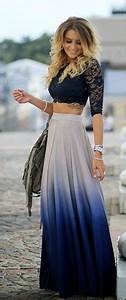 Lace Maxi Skirts on Pinterest | Skirts Style and Dresses
