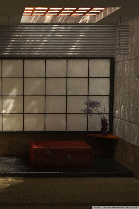japanese interior design ultra hd desktop background