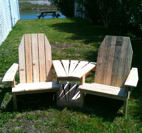 White Adirondack Chair Pallet by White Pallirondack Settee Diy Projects