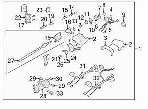 brand new genuine gm oem steering column wiring harness With steering column wiring harness