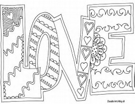 hd wallpapers coloring pages of inspirational words - Inspirational Word Coloring Pages