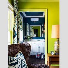 Bold And Trendy Smallbathroom Makeover  Hgtv