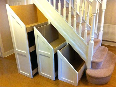 white length wall mirror stairs storage ideas the stairs