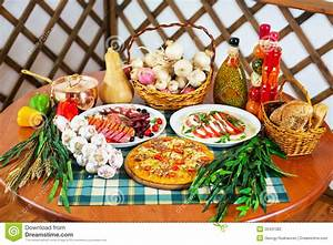 Italian Cuisine Still Life Stock Photo Image26431382