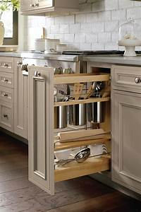 Base Utensil Pantry Pull Out Cabinet Decora